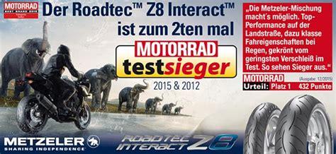 Motorradreifen Z8 by Metzeler Roadtec Z8 Interact Test