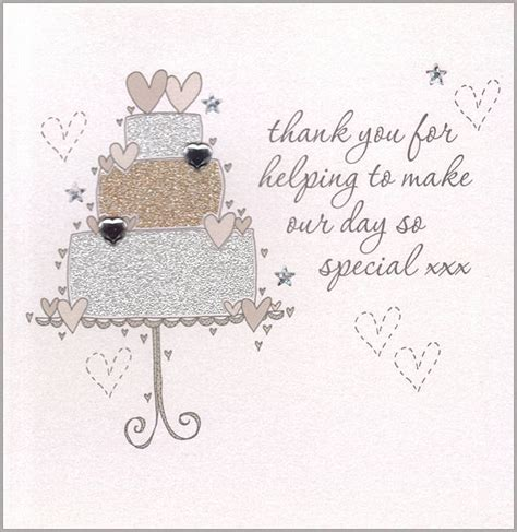 Handmade Wedding Thank You Cards - handmade wedding thank you card by eggbert