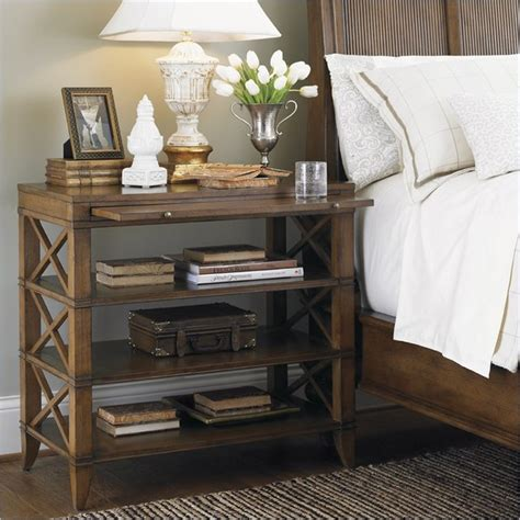 Eclectic Nightstands quail hollow dawson open nightstand in wellington finish eclectic nightstands and