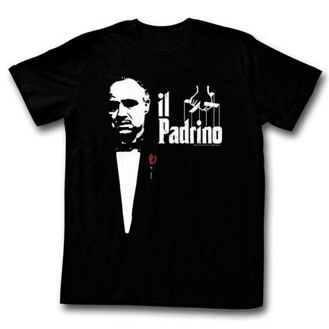 T Shirt The the godfather shirt il padrino black t shirt the