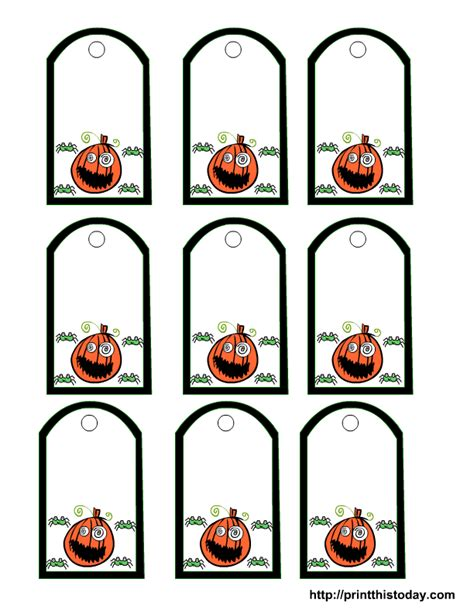 7 best images of halloween printable gift tags free