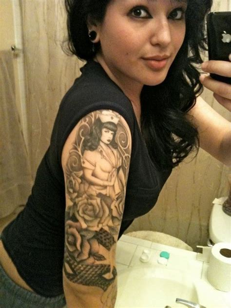 bettie page tattoo 58 best images about bettie page tattoos on