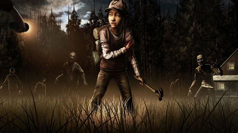wallpaper 3d the walking dead the walking dead game wallpapers wallpaper cave