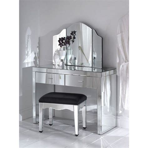 Mirrored Make Up Vanity by Mirrored Makeup Storage Is A Stylish Way To Unclutter The