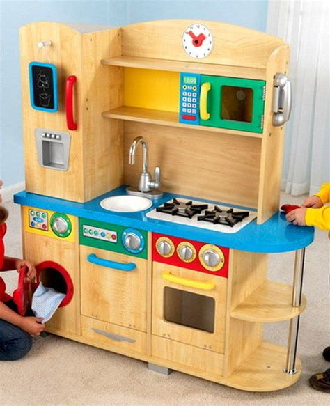 Kidkraft Wooden Play Kitchen Set With Stools by M 225 S De 25 Ideas Incre 237 Bles Sobre Kidkraft Wooden Kitchen