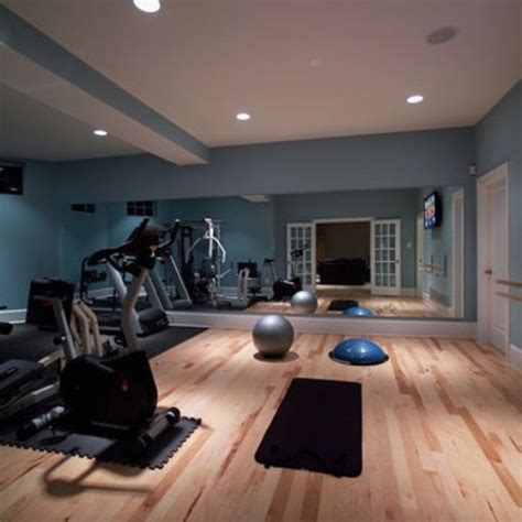 home exercise room decorating ideas 58 well equipped home gym design ideas digsdigs