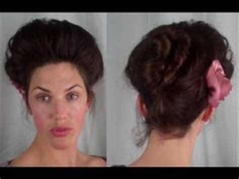 gibson knot hairdo for wet hair gibson girl hairstyle gibson girl style updo vintage