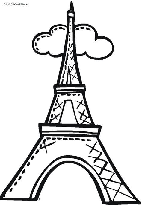 coloring pages for eiffel tower eiffel tower coloring page coloring pages eiffel tower