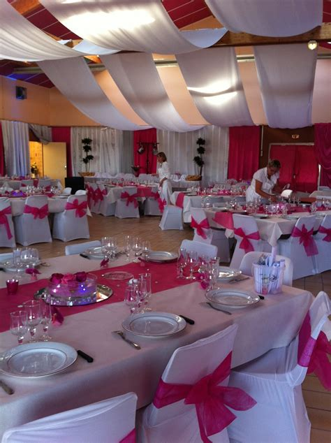 table de salle des fetes decoration pour salle mariage fete reception janvier 2011