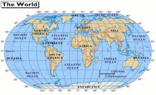 maps world map with latitude and longitude lines