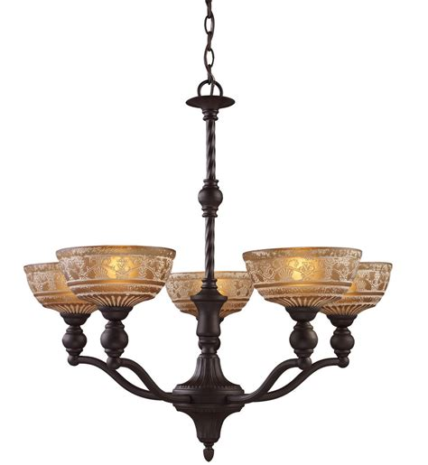 elk lighting 66197 5 norwich oil rubbed bronze 28 inch