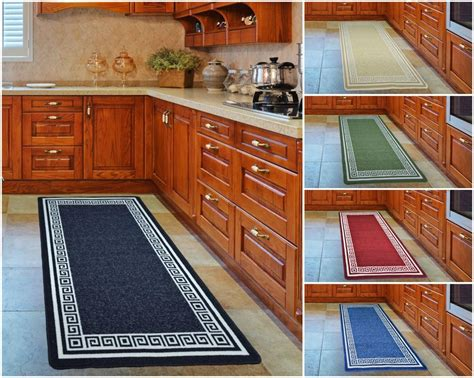 Kitchen Floor Mats With Rubber Backing Kitchen Floor Non Slip Mat Machine Washable Rubber Back
