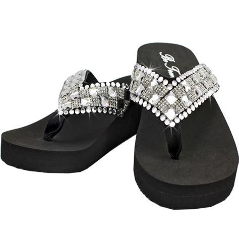 Rhinestone Flip Flops bling flip flops rhinestone flip flops bling shoes