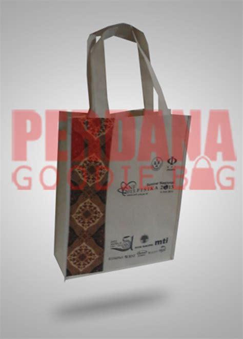 Goodie Bag Spunbond Batik tas seminar kombinasi batik jakarta timur perdana goodie bag