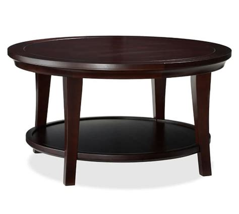 metropolitan coffee table pottery barn