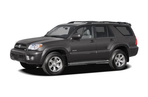 Toyota 4runner Reliability 2007 Toyota 4runner Specs Safety Rating Mpg Carsdirect