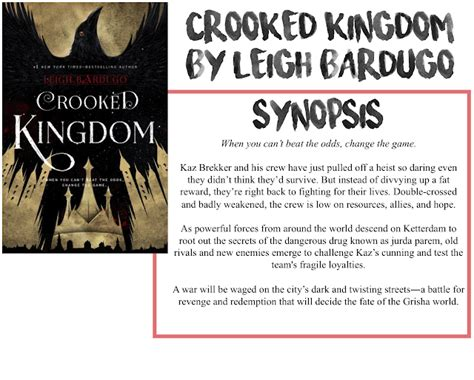 crooked kingdom book 2 1780622317 ryley reads crooked kingdom by leigh bardugo book review