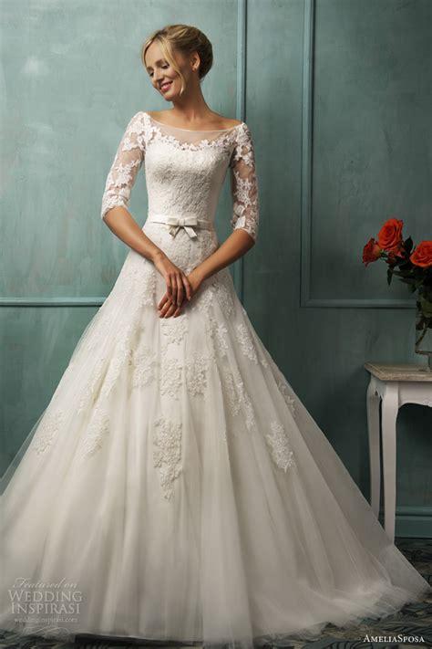 weddings dresses with sleeves ameliasposa 2014 wedding dresses wedding inspirasi