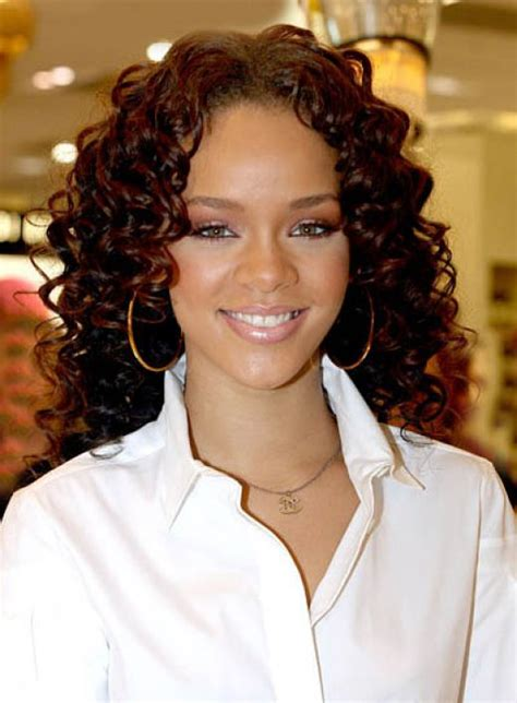 curly hairstyle high forehead curly hairstyles black hair