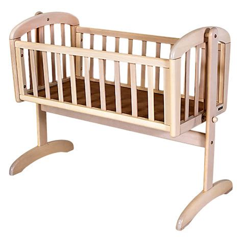 baby swinging crib buy john lewis anna swinging crib white wash john lewis