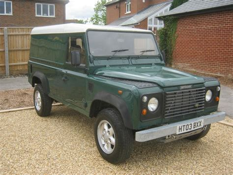 land rover defender 2003 land rover defender 110 4 x 4 2 5 td5 2003 with 2