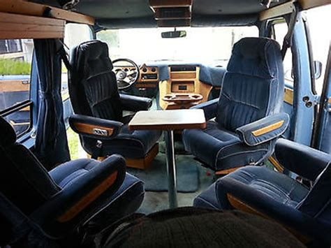 chevy g20 conversion interior v8 vanners