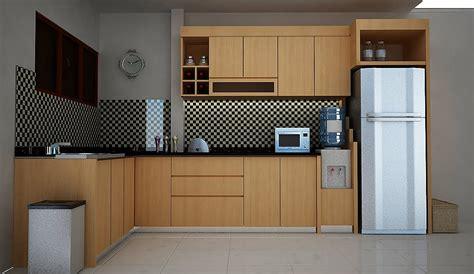 koleksi contoh gambar desain interior dapur   sederhana ukuran kecil minimalis