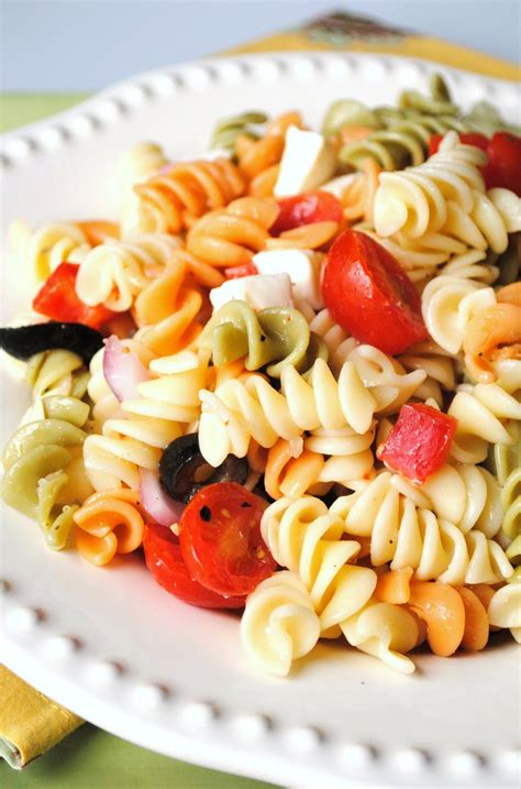 pasta salad how to simplify