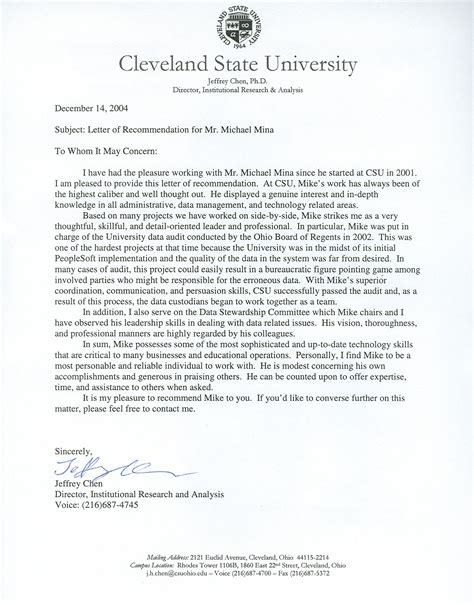 Reference Letter Research letter of recommendation postdoc sle phd application