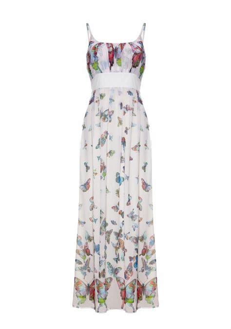 Butterfly Maxy Dress Hq butterfly print maxi dress yumi dresses