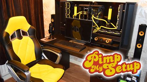 Pimp Out Your Ridewith Computer by Ep 56 Wall Pc Pimp My Setup Marzbargaming