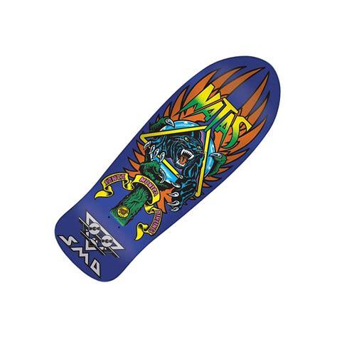 reissue skateboard decks santa skateboards sma natas panther 3 reissue