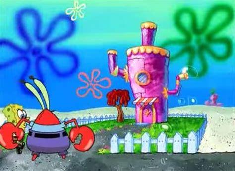 mr krabs house mr krabs and spongebob going to mrs puff s house spongebob pinterest spongebob