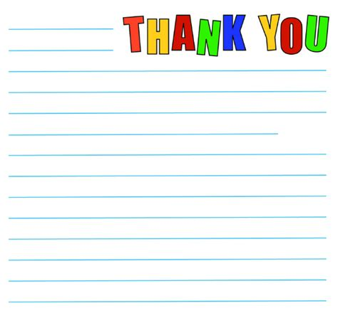 printable thank you notes uk thank you note templates print what matters