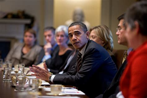 Obama Cabinet Members by President Obama Holds A Cabinet Meeting In Photos