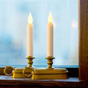 Electric Candles For Windows Decor Electric Candles For Windows Ideas Windows Curtains