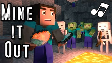 minecraft song mine it out quot a minecraft parody of will i am s scream