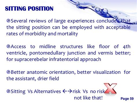 Positioning In Neurosurgeries Morbidity And Mortality Presentation Template