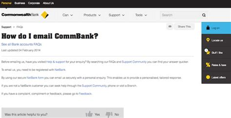 commonwealth bank mailing address commonwealth bank email login commbank au email