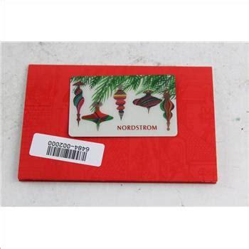 Nordstroms Gift Card Balance - nordstrom gift card 1 000 balance property room