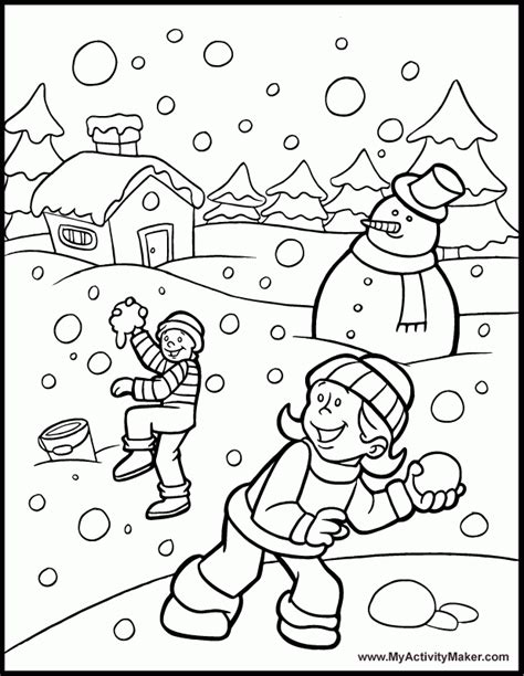 winter coloring pages pdf free coloring pages winter wonderland az coloring pages