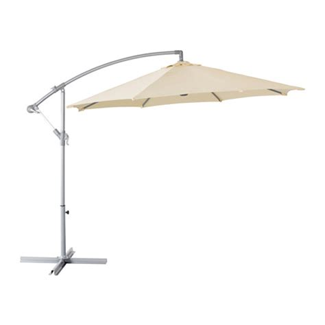 Ikea Patio Umbrellas Karls 214 Umbrella Hanging Beige 118 1 8 Quot Ikea