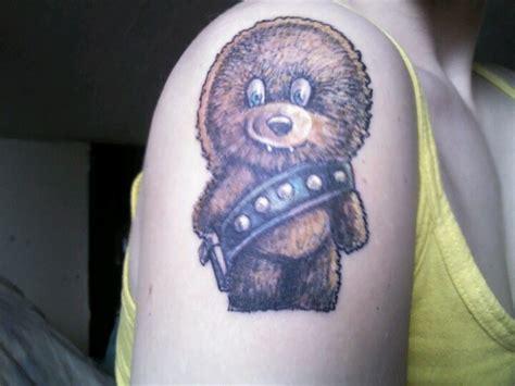 chewbacca tattoo baby chewbacca ink