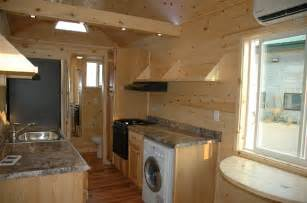 tiny house with loft tiny house with no need for loft or ladder bed is on a