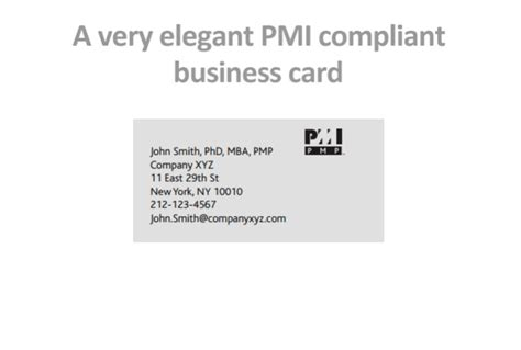 Pmp And Mba by Business Card Etiquette Phd Gallery Card Design And Card