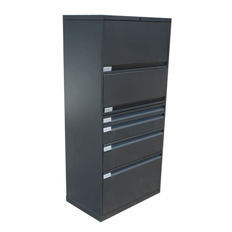File Cabinets Lateral Knoll Metal Lateral File Cabinet Ebay