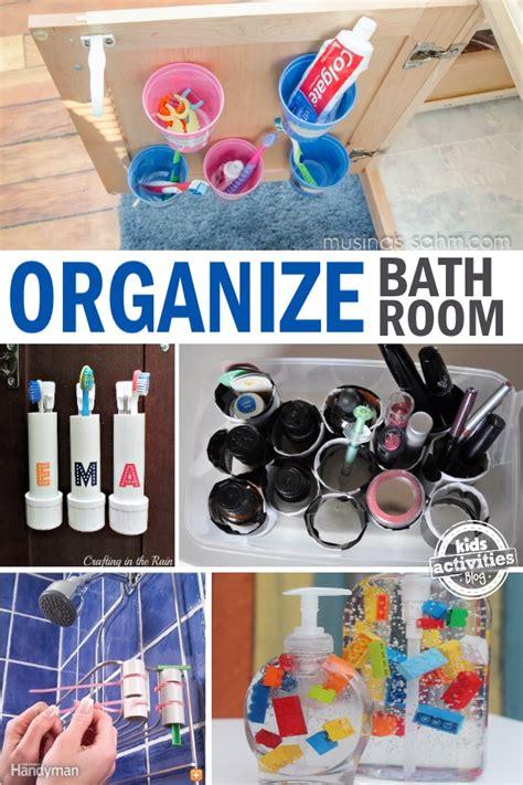 organizing kids bathroom genius bathroom hacks and tips