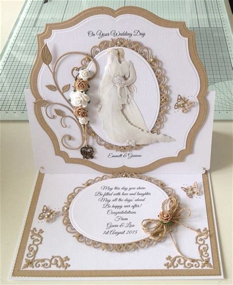 the 25 best wedding cards handmade ideas on wedding cards simple wedding cards and