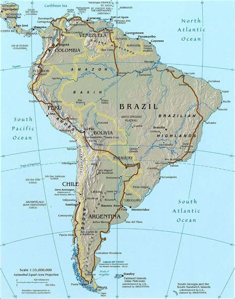 south america driving map road map south america