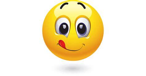 emoji yummy licks lips symbols emoticons